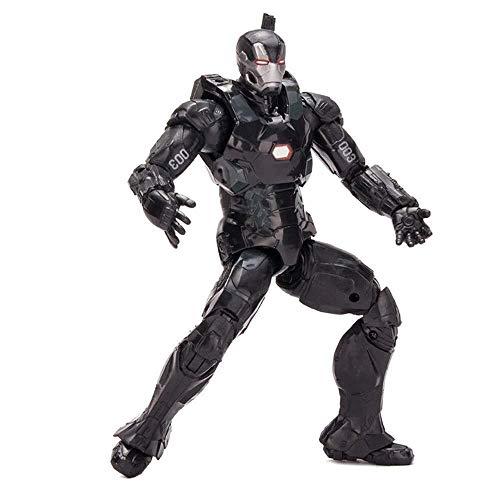 Iron Arbeiten Zu Mann Kostüm - MODELSS Iron Machine Iron Man, Rächer Iron Man Action-Figur, 7 Zoll