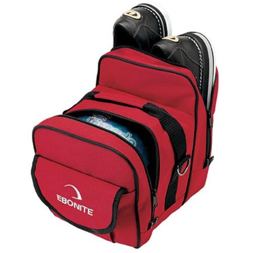 Ebonite Bowling-Tasche, kompakt, Einzelbett, Rot