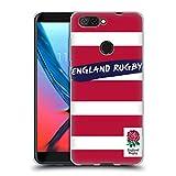 Head Case Designs Offizielle England Rugby Union Streifen Rot 2016/17 Muster Soft Gel Hülle für ZTE Blade V9 Vita