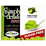 Simply Delish Sugar-Free Jelly Lime Pack of 6