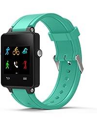 garmin vivoactive acetate correa de reloj barato Reloj banda de kit de Correa de pulsera de silicona quickfit para Garmin Vivoactive Acetate Sports GPS Smartwatch (Verde)