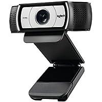 Logitech C930e 1920 x 1080Pixeles USB Negro cámara web - Webcam (1920 x 1080 Pixeles, 30 pps, 4x, USB, Negro, Recortar)