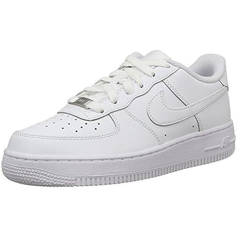 Nike Air Force 1 (Gs), Zapatillas de Baloncesto para Hombre