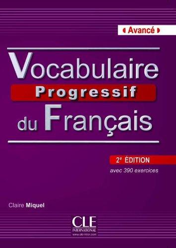 Vocabulaire progressif du français - Niveau avancé - Livre + CD - 2ème édition