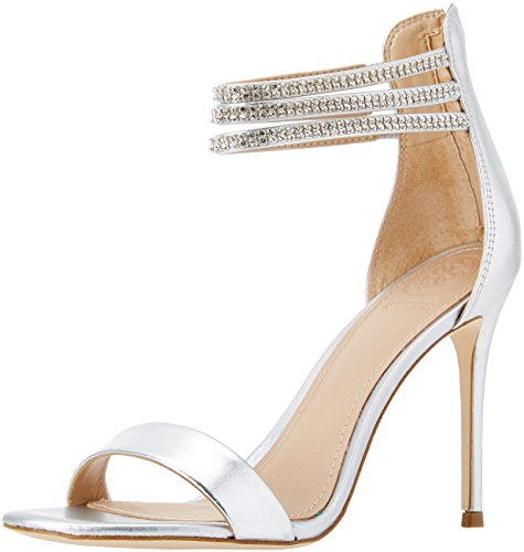 Guess Damen Footwear Dress Sandal Slingback Pumps, Silber (Silver Silve), 35 EU