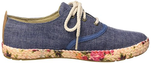 Timberland Damen Casco Bay Fabric Oxford Sneakers Blau (Vintage Indigo)