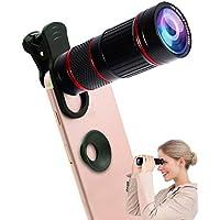 Universal 18X Clip-On Telecamera teleobiettivo Smartphone mobile Obiettivo zoom Fotocamera Telescopio compatibile iPhone Samsung Galaxy Huawei e maggior parte degli Android smartphone