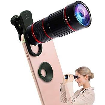 ACT Clip Universel sur 8 x Loupe Zoom Optique Objectif télescope Coque kit pour iPhone 8 7 6