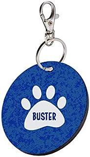 Sky Trends Round Shape Collar Locket/Pendant for Dogs & Puppy -919, Multicolour, Medium, 1 Count - Bu