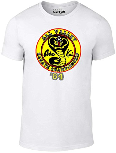 Bullshirt's Men's Cobra Kai T-Shirt - S to 5XL