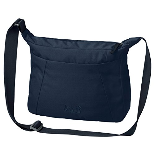 Jack Wolfskin Damen Valparaiso Bag Umhängetasche, Midnight Blue, ONE SIZE (Womens Mode-taschen)