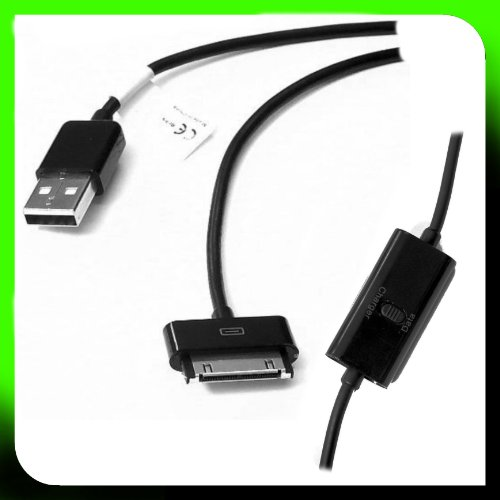tomaxx Tab USB Datenkabel Ladekabel Samsung Galaxy Tab Samsung P1000 / P1010 Galaxy Tab, P7500 / P7100 Galaxy Tab 10.1 LTE, P7300 / P7310 Galaxy Tab 8.9, Galaxy Tab Note 10.1N GT-P7501, Galaxy Tab 7.0 Plus N GT-P6201, Galaxy Tab 7.0 Plus N WiFi GT-P6211