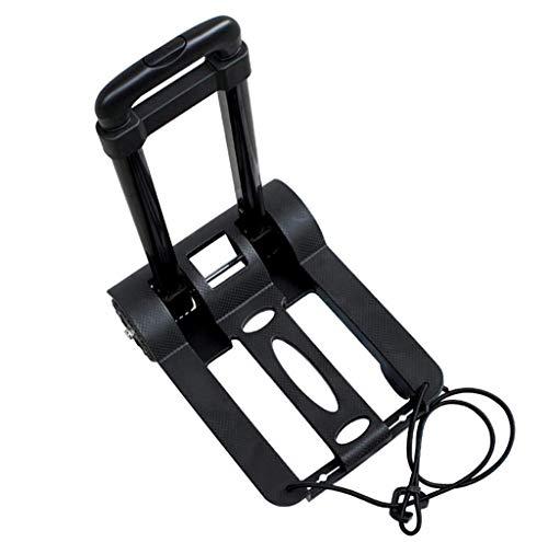 BHXUD Faltbare Hand-LKW 330 LB Schwerbau Nutzfahrzeug Kompakt und Leichtes Gepäck Für Indoor-Outdoor-Shopping-Büro