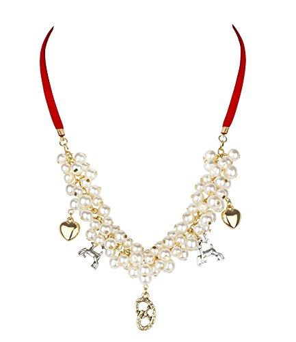 Trachten Schmuck Gold Halsketten (SIX