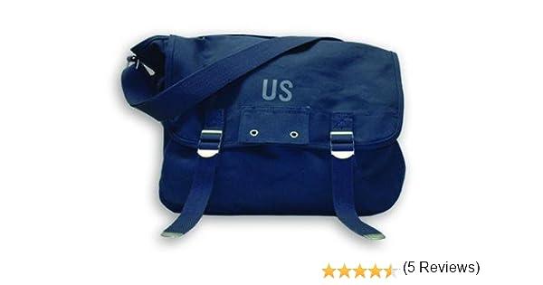 b01d464294 Planet Vintage - Sac besace à bandoulière - Modèle US - Bleu marine:  Amazon.fr: Bagages