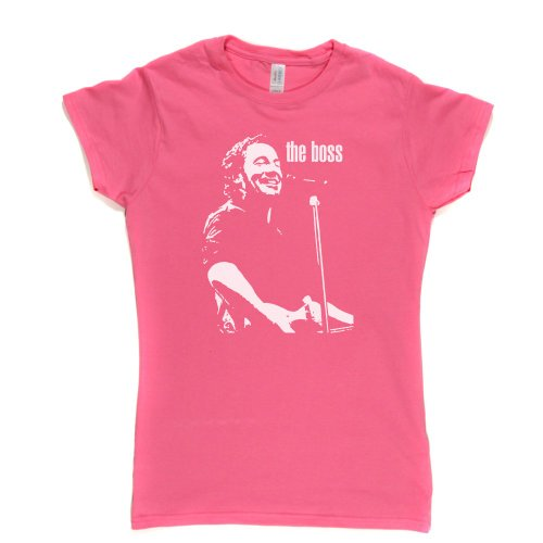 The Boss Womens Fitted T-shirt Rosa