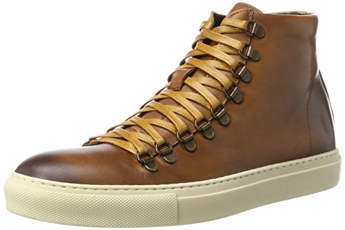 Casual Design (KENNETH COLE Herren Design 10775 Hohe Sneaker, Braun (Cognac), 43 EU)