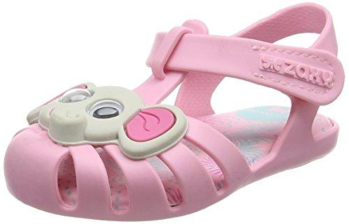 Zaxy Mädchen Baby Animal Sandalen, Pink 90559, 22 EU