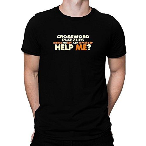 Teeburon Crossword Puzzles makes me hot Can somebody help me? Camiseta
