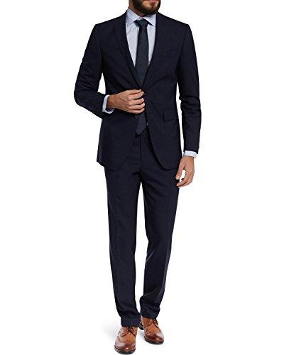 Barutti 100S Vestito da uomo, taglio regolare, Tarso/Tosco in 5colori blu navy