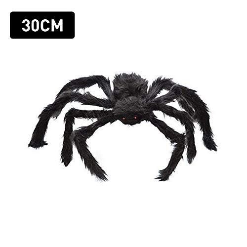 Werfen Sie Kostüm Zusammen - Plüschspinnen, Halloween-Spinnendekoration, fürchterlich realistisch für schockierende Momente, für Halloween-Partybedarf oder Kostüme
