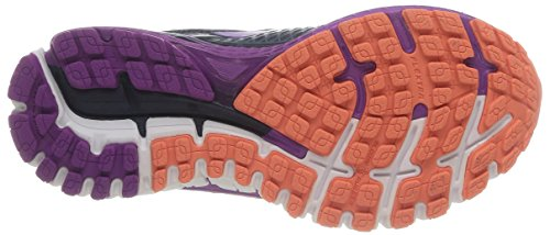 Brooks Adrenaline Gts 15 Scarpe De Corsa, Donna Multicolore (peacot / Purple Flower / Saumon)