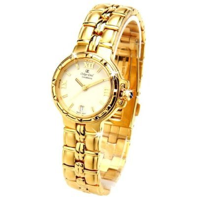 Oskar Emil Casablanca 302L - Reloj de Lujo Oro Mujeres, Con Esfera Crema