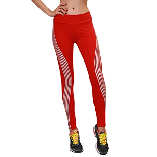 DAYSEVENTH PANTS Women Fashion Neon Rainbow Leggings Fit Sports Gym Running Yoga Athletic Pants