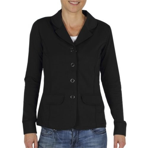 Damen Blazer exofficio go-there Shirt schwarz