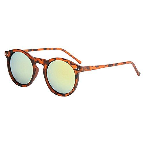 YWLINK Mode Klassisch Damen Herren Polarisierte Sonnenbrille Strand Urlaub Retro Multicolor Katzenauge Brille