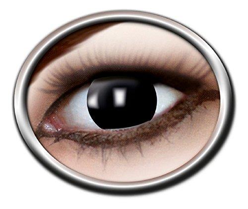 Eyecatcher Motivlinsen - farbige 3-Monats-Kontaktlinsen - blind black m20