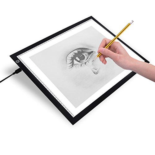 Firecore LED Tracing Light Pad box da disegno regolabile leggerezza ultra-slim Art Craft design LightPad...,