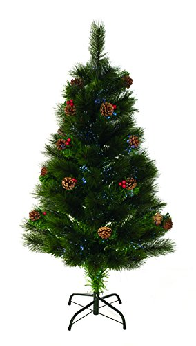 uk-gardens-4ft-12m-120cm-green-needle-fibre-optic-tree-with-cones-and-berries-metal-base-100-tips
