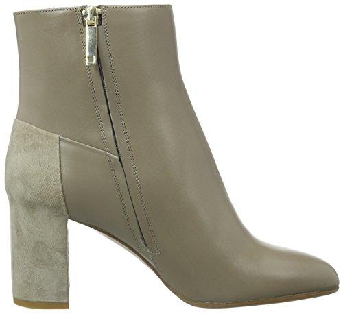 HUGO Damen Eloen 10191386 01 Kurzschaft Stiefel Beige (Beige/Khaki 250)