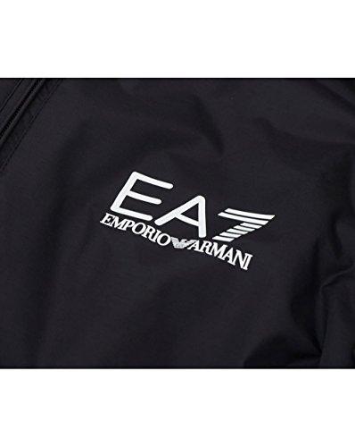 Emporio Armani EA7 Nylonblouson Herren Nylonjacke Jacke Blouson Nylon Nue Schwar Noir