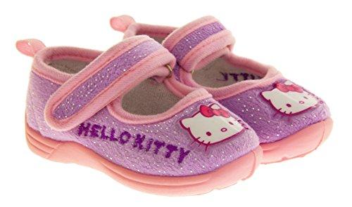Hallo Kitty Infant Außensohle Hausschuhe Lila