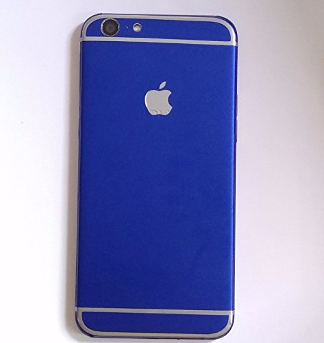 GADGETS WRAP iPhone Style Apple Logo Blue Matte Limited Printed Skin for Vivo Y55L.