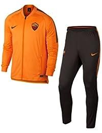 Nike Roma y NK DRY SQD TRK Suit K Chándal, Unisex Adulto, Naranja (Vivid Orange/Velvet Brown/Velvet Brown), M