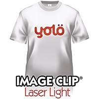 10 x A3 hojas de imagen clip luz Laser auto-ENGELAMIENTO calor camiseta papel de transferencia/transferencias