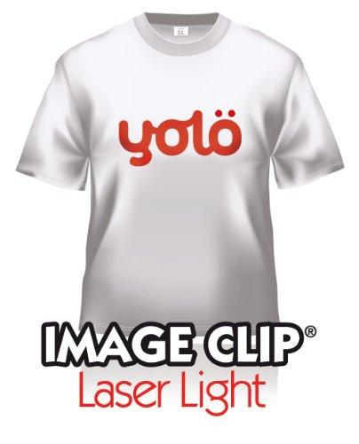 yolö creative 10 fogli di formato a4 di image transfer clip laser light self-sarchiatura calore carta t-shirt/trasferimenti