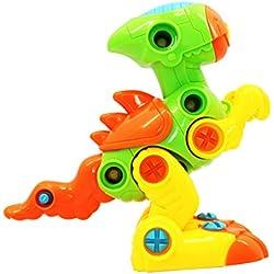 Homyl 1 Unidad de Rompecabezas Juguete Hecho de Plástico Puede Estimular Creatividad de Bebé - Tirano-saurio Rex