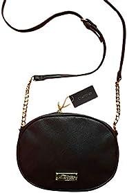 Bebe Women's Nayeli Canteen Crossbody Bag,Leather - B