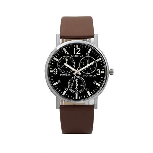 Herren Männer Mode Quarz Geschäft Luxury Quarz Uhren Six Pin Uhren Quarz Herrenuhr DREI Augen Armbanduhr Edelstahl Wasserdicht Six Pin Analog Quarz Uhr Armband