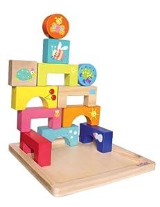 Falomir Boikido 646531 - Puzzle Madera Eco Bloques 4 Estaciones