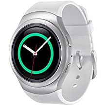 "Samsung Gear S2 Sport - Smartwatch de 1.2"" (IP68, Dual-Core, 512 MB de RAM, 4 GB, Tizen) color blanco"