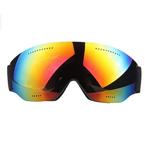 H_y occhiali di protezione uv per snowboard, occhiali per protezione antivento professionale unisex per occhiali da sci occhiali da sci per protezione uv