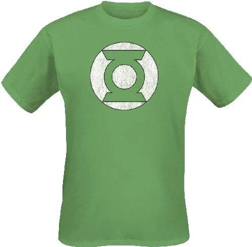 Green Lantern Green Lantern Logo-T-shirt  Uomo    verde Large