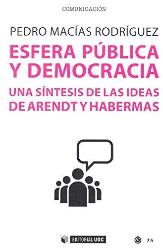 Esfera pública y democracia. Una síntesis de las ideas de Arendt y Habermas