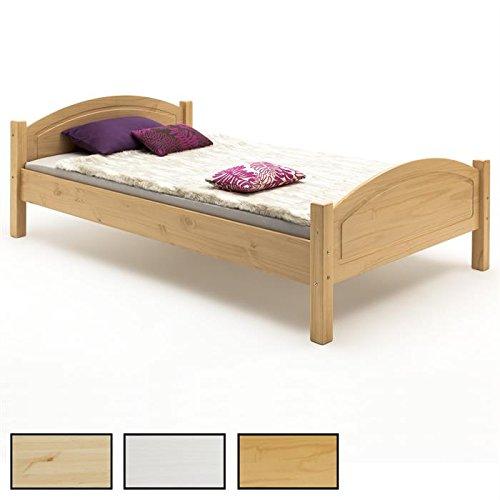 Holzbett Einzelbett Doppelbett Bett FLIMS in 3 Farben und 4 Größen