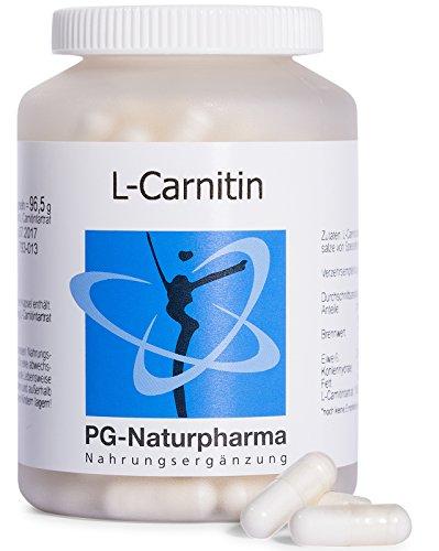 L-Carnitin Kapseln – 160 Kapseln mit je 500 mg L-Carnitin Tartrat, hochdosiert, aus Deutschland, 2-Monatsvorrat